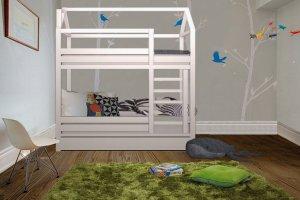 Кровать-домик Любимый домик двухъярусная - Мебельная фабрика «Mom'sLove»