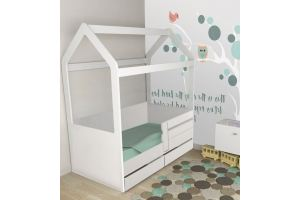 Кровать-домик Люкс с ящиками - Мебельная фабрика «Рим»