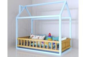 Кровать Домик малыша - Мебельная фабрика «Mamka»