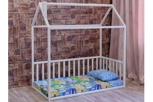 Кровать-домик массив Молли - Мебельная фабрика «Ёлочка»