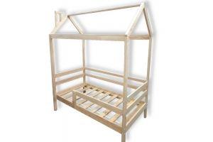 Кровать-домик массив Сканди - Мебельная фабрика «Ёлочка»