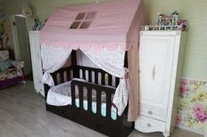 Кровать-Домик подростковая венге - Мебельная фабрика «Сафаня»