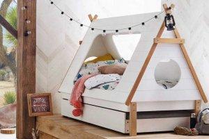 Кровать-домик Райский вигвам - Мебельная фабрика «Mom'sLove»