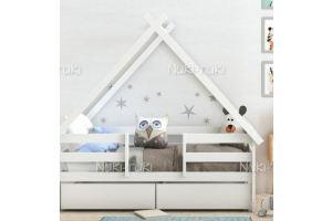 Кровать-домик с ящиками - Мебельная фабрика «NUKI-TUKI»