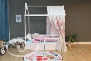 Кровать-домик Сеньор К25.1 - Мебельная фабрика «Красная звезда»
