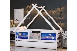 Кровать-домик в детскую - Мебельная фабрика «NUKI-TUKI»