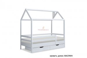 Кровать- домик Жасмин - Мебельная фабрика «МуромМебель (ИП Баранихина Г.И.)»