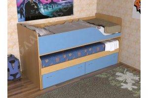 Кровать Дуэт 2 - Мебельная фабрика «СлавМебель»