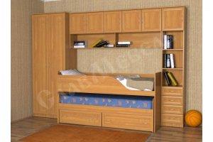 Кровать Дуэт 6 - Мебельная фабрика «СлавМебель»