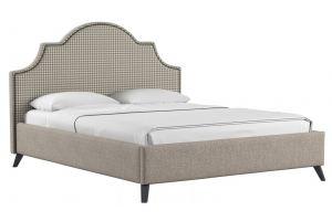 Кровать двойная Фаина - Мебельная фабрика «Нижегородмебель и К (НиК)»