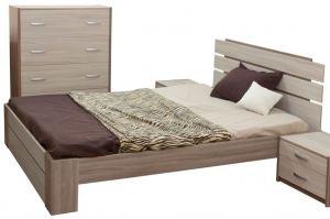 Кровать двухспальная Натали - Мебельная фабрика «Карат-Е»