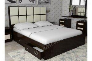 Кровать двухспальная Волна 4 - Мебельная фабрика «СлавМебель»