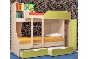 Кровать двухъярусная - Мебельная фабрика «Альянс»