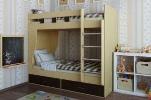 Кровать двухъярусная Альба - Мебельная фабрика «Лагуна»