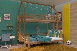 Кровать двухъярусная бук НК 03 - Мебельная фабрика «ВЭФ»