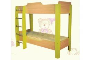 Кровать двухъярусная детская - Мебельная фабрика «AvtoBaby»