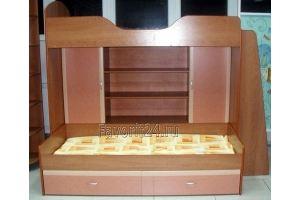 Кровать двухъярусная детская - Мебельная фабрика «Фаворит»