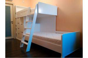 Кровать двухъярусная из массива ольхи - Мебельная фабрика «Эксклюзив-Пинск»