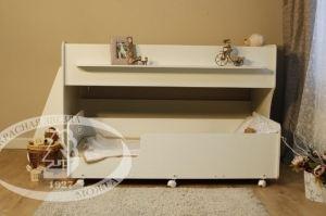 Кровать двухъярусная К443 - Мебельная фабрика «Красная звезда»