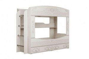 Кровать двухъярусная Каролина - Мебельная фабрика «Олмеко»