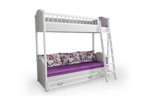 Кровать Двухъярусная Классика - Мебельная фабрика «38 попугаев»