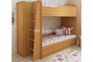 Кровать двухъярусная Кристина - Мебельная фабрика «Бастет»
