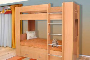 кровать двухъярусная ЛДСП - Мебельная фабрика «Прометей»