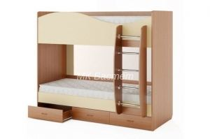Кровать двухъярусная Луиза-1 - Мебельная фабрика «Бастет»
