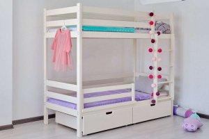 Кровать двухъярусная массив Никс - Мебельная фабрика «Ёлочка»