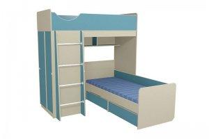 Кровать двухъярусная Находка 6 - Мебельная фабрика «Мебель от Михаила»