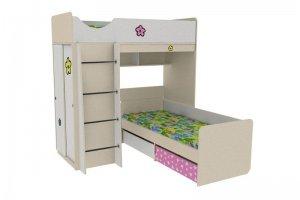 Кровать двухъярусная Находка 6 Л - Мебельная фабрика «Мебель от Михаила»