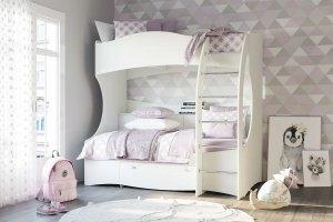 Кровать двухъярусная Прованс - Мебельная фабрика «Сильва»