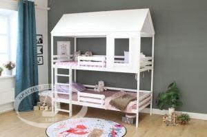 Кровать двухъярусная с крышей Р428 - Мебельная фабрика «Красная звезда»