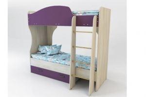 Кровать двухъярусная Спутник 1 Color - Мебельная фабрика «Мастер Дом»