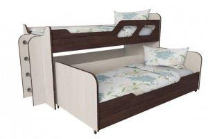 Кровать двухъярусная Вега 5 - Мебельная фабрика «Квадрат»