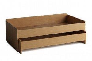 Кровать двухъярусная выдвижная - Мебельная фабрика «Alicio»