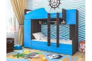 Кровать двухъярусная Юниор 2 - Мебельная фабрика «ЯРОФФ»