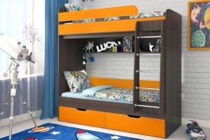 Кровать двухъярусная Юниор 5 - Мебельная фабрика «ЯРОФФ»