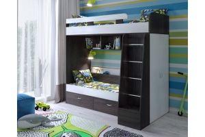 Кровать двухъярусная Юниор 6 - Мебельная фабрика «ЯРОФФ»