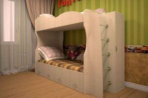 Кровать двухъярусная Юность-2 - Мебельная фабрика «ТФМ XXI»