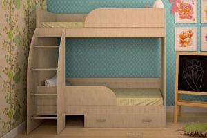 Кровать двухъярусная Юность-3 - Мебельная фабрика «ТФМ XXI»