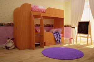 Кровать двухъярусная Юность-4 - Мебельная фабрика «ТФМ XXI»