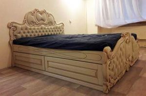 Кровать двуспальная - Мебельная фабрика «Mebeon»