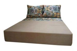Кровать двуспальная 74.5 - Мебельная фабрика «Мега-Проект»