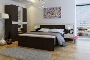 Кровать двуспальная Адрио  - Мебельная фабрика «Мастер»