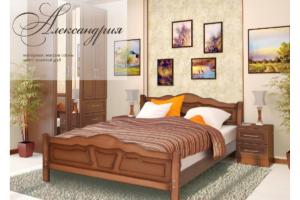 Кровать двуспальная Александрия - Мебельная фабрика «НИКА»