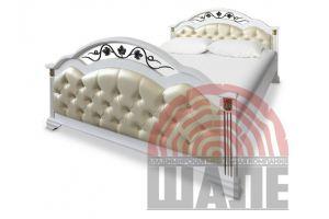 Кровать двуспальная Элизабет - Мебельная фабрика «ВМК-Шале»