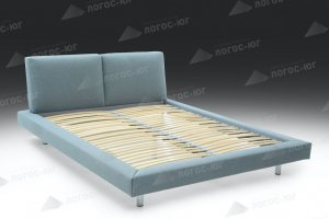 Кровать двуспальная Флоренция 5 New - Мебельная фабрика «Логос-юг»