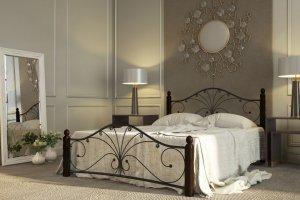 Кровать двуспальная Фортуна 1 - Импортёр мебели «Мебвилл»
