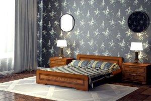 Кровать двуспальная Грация - Мебельная фабрика «DM- darinamebel»